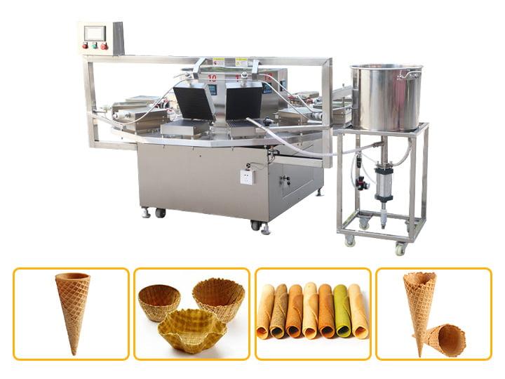 ice cream cone machine