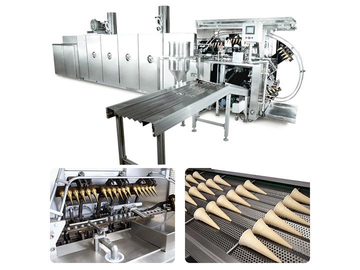 automatic ice cream cone production line