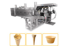 mold cone production line
