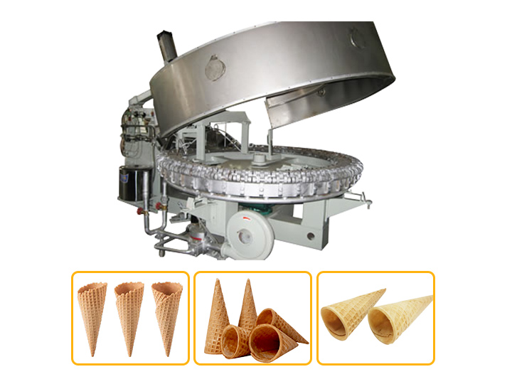 rolled sugar cone machine