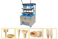 wafer cone machine