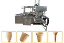 wafer cup cone machine