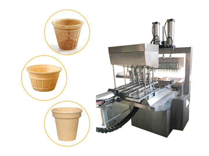 wafer cup making machine