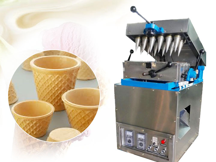 commercial wafer tea cup making machine for sale