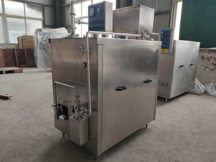 continuous ice cream making machine