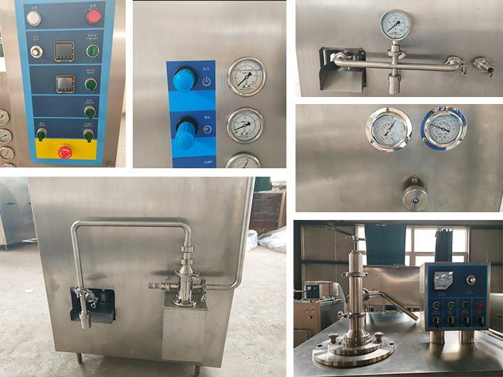 ice cream freezing machine details