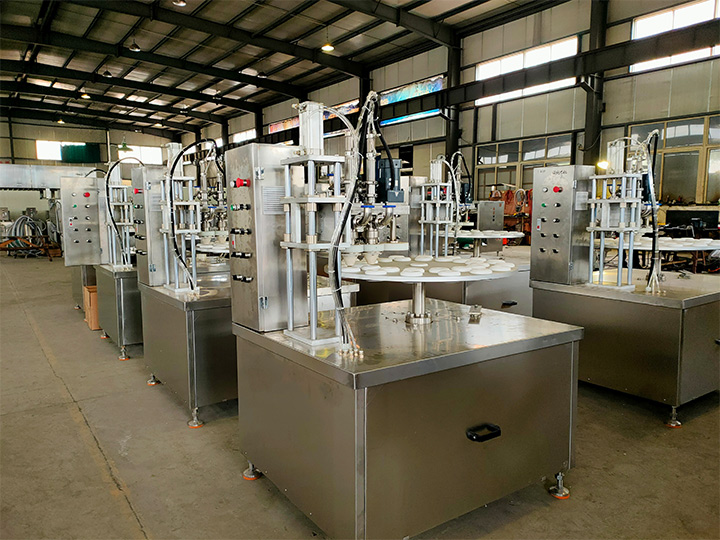 industrial ice cream filler equipment manufacturer