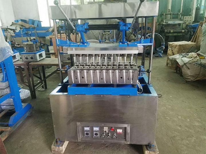South Africa customer order ice cream making machine again