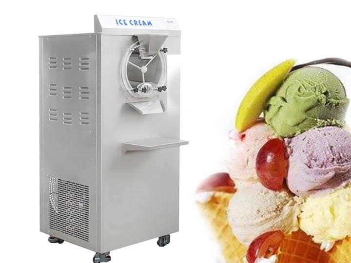 commercial hard ice cream machine