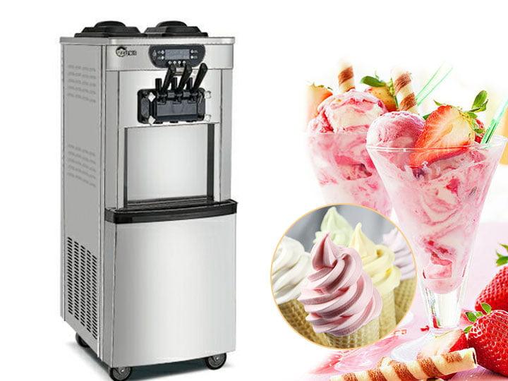 commercial soft serve ice cream machine