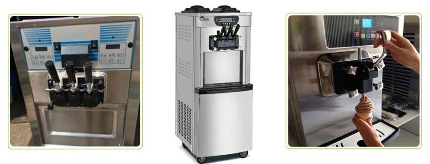 soft ice cream machine maker