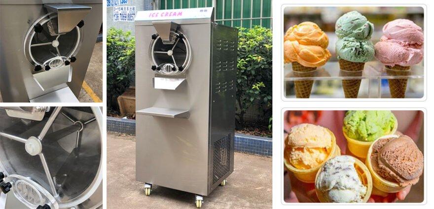 commercial hard ice cream maker