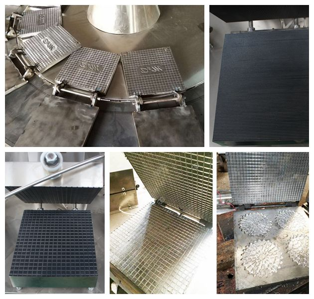 baking trays with different shapes