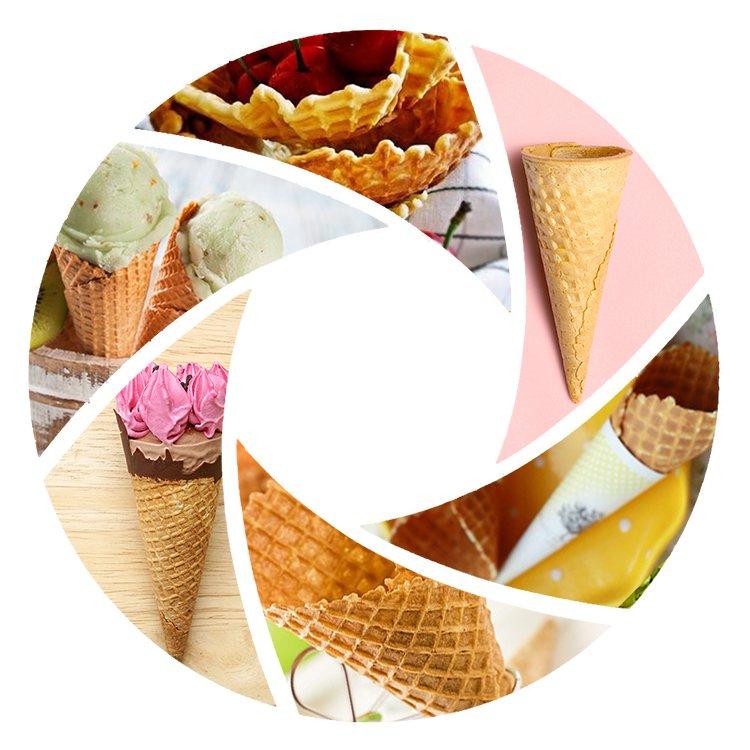 ice cream crispy cone