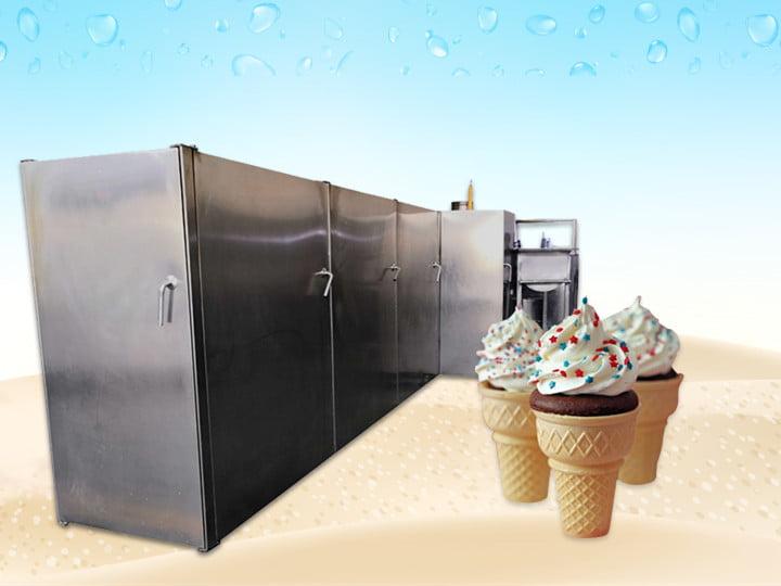 edible coffee wafer cone machine supplier